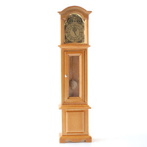 Grandfather Clock Oak