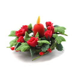 Red Seasonal Table Decoration