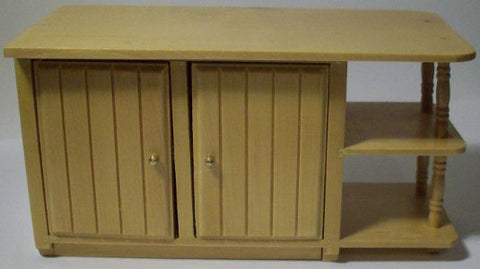 Oak Kitchen Island Bench Unit