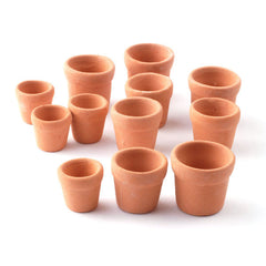 1 Terracotta Flower Pot