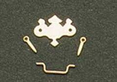 Brass Chippendale Drawer Pulls Set Of 6