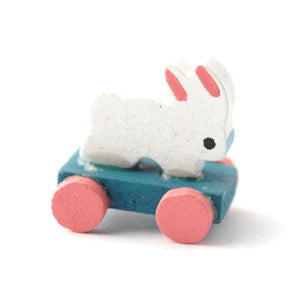 Pull Along Rabbit Toy