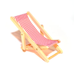 Deck Chair Red