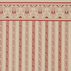 Regency Burgundy Stripe Wallpaper