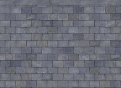 Old Grey Slate Roof Paper