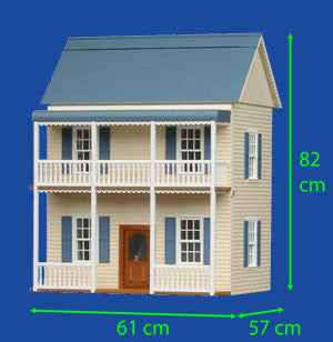 The Rushton Dollhouse Kit
