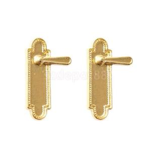 Door Handle With Plain Key Plate