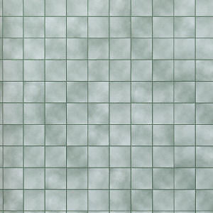 Green Marble Tiles Paper