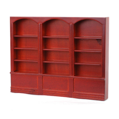 Mahogany Triple Wall Unit