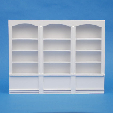 White Triple Wall Unit