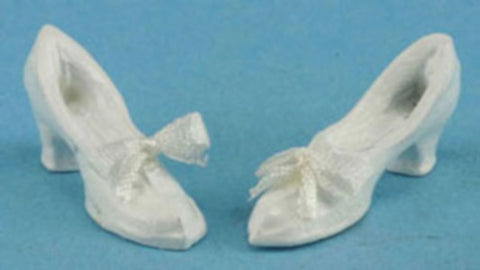 White Shoes With Bow