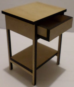 Side Table With Drawer Kit