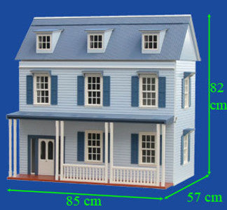 The Stratford Dollhouse Kit
