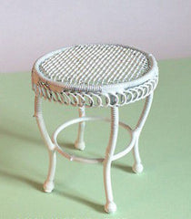 White Wire Table