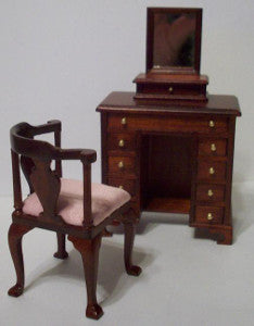 Delicate Ladies Dresser And Chair