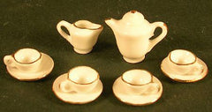 Gold Trimmed Tea Set