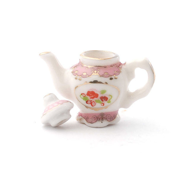 Ornate Pink Teapot