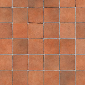 Embossed Terracotta Small Tile Sheet