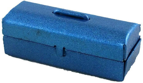 Blue Metal Tool Box