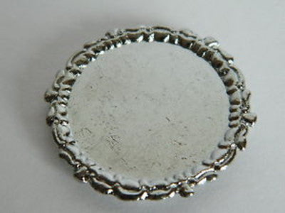 Round 'Silver' Tray