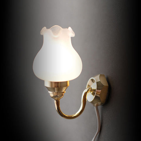 Single Globe Wall Light