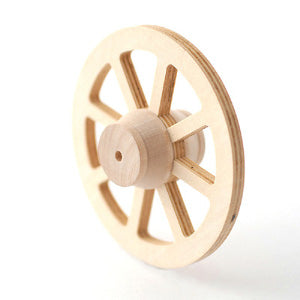 Wooden Wagon Wheel 77mm
