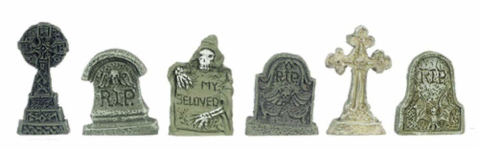 Tombstones Set Of 6