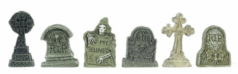 Tombstones 6 pcs