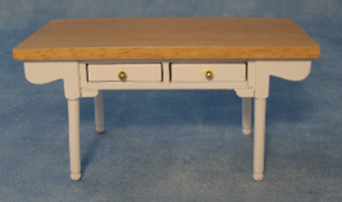 Kitchen Table White And Pine