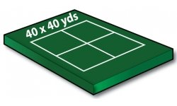 40x40 Yard Soccer Training Grids - Port-a-field