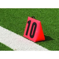 5 or 11-Piece Football Yardmarker Set - Port-a-field