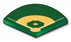 Baseball or Softball Foul Lines - Port-a-field