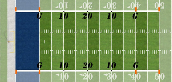 Football60 Modified Football Field - Port-a-field