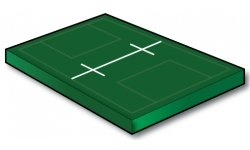 Men's Lacrosse Midfield Line with Wing Lines - Port-a-field