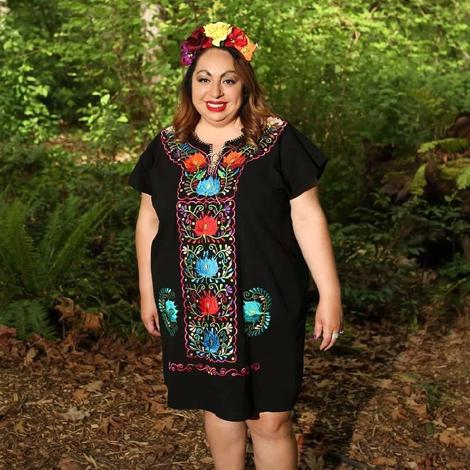 Clothing Mexican Blouse Plus Size for Women Embroidered ...