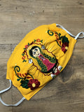 Accsessories Yellow Virgencita Face Masks