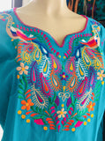 Blouses Small Peacock Top Teal