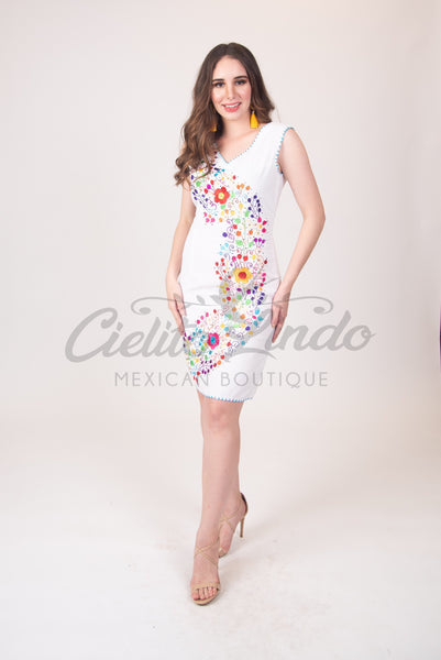Dress Mexican Adriana Cocktail Dress