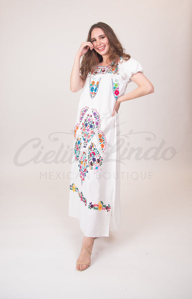 Dress XS Loreto Maxi Dress White