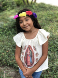 Girls Dress 3-4 Years Virgencita Top for Girls