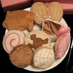 Pan Dulce Conchas Orejas and Piggies Coin Purses - Cielito Lindo