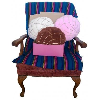 Pan Dulce Concha Cushion Pillow