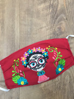 Frida Catrina Face Mask