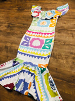 Jalapa Maxi Dress Printed - Cielito Lindo Mexican Boutique