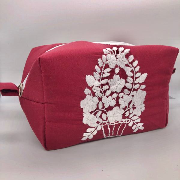Cosmetic Bag Texas A & M Go Aggies! - Cielito Lindo Mexican Boutique
