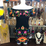 Bonita Bodycon Dress - Cielito Lindo Mexican Boutique
