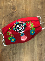 Frida Catrina Face Mask - Cielito Lindo Mexican Boutique