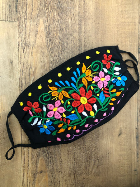 Florecitas Face Mask - Cielito Lindo Mexican Boutique