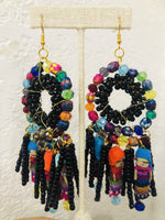 Jewelry Multicolor Vanessa Worry Dolls Statement Earrings