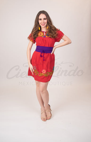 Medium Zulema Dress Red
